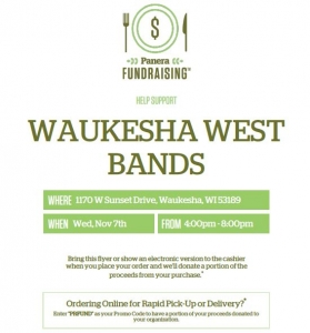 Panera Fundraising Night @ Panera Bread | Waukesha | Wisconsin | United States